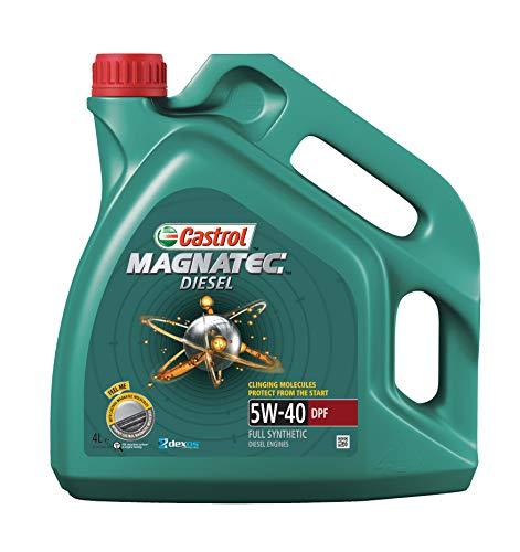 Castrol MAGNATEC 5W-40 DPF Aceite de motor, 4 L
