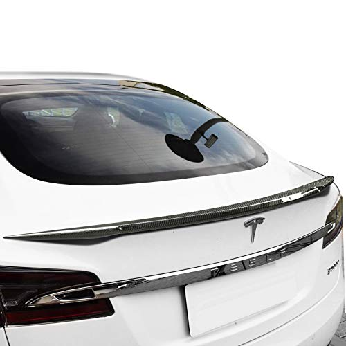 GearLiv-Spoiler-Tesla-Model-S-2012-20-Carbon-Fiber-Trunk-Lip-Spoiler-Performance-Style-Glue-Adhesive-Easy-Install-Super-Light