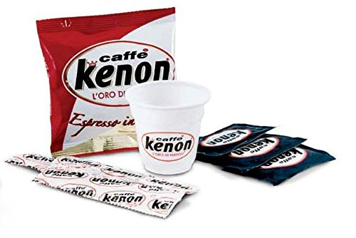 150Cápsulas café kenon Espresso con kit accesorios kenon