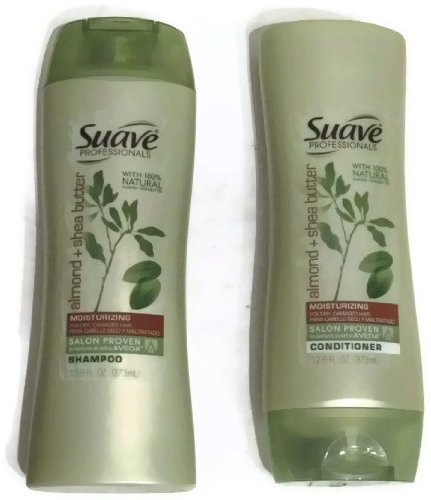 Suave Professionals Shampoo and Conditioner Set 12.6 Oz Ea. (Almond and Shea Butter)