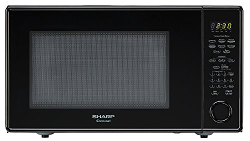 Sharp Countertop Microwave Oven ZR559YK 1.8 cu. ft. 1100W Black with Sensor Cooking