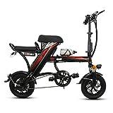MSM Pliage Lithium-ION Vélo électrique,Léger Petit E-Bike pour Hommes Femmes Déplacement en...