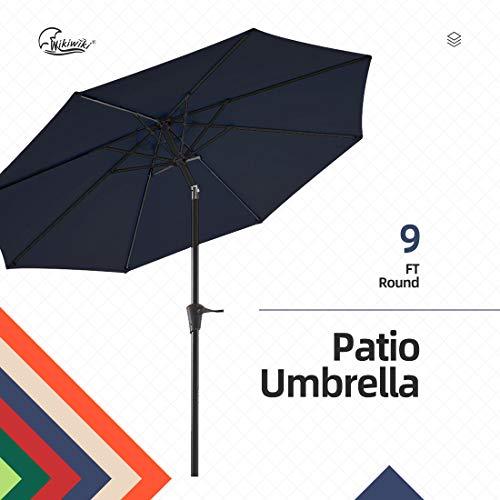 wikiwiki 9ft Patio Umbrella Outd...