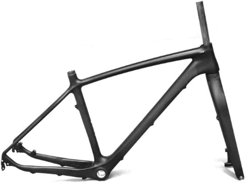 Full Carbon Mountain Bike Disc Brake 27.5er Frame Fork 19