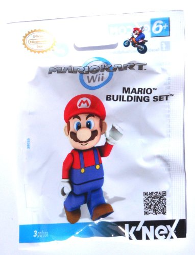 K'nex TOY2A Mario Kart Wii Figure - Mario