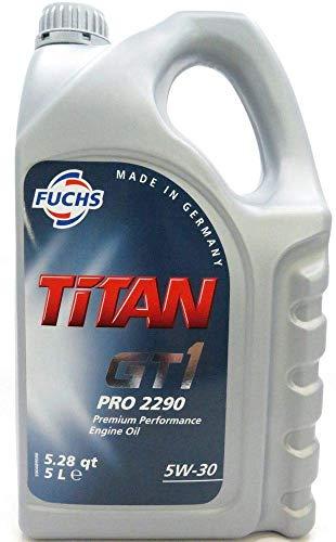 FUCHS Motoröl Öl TITAN GT1 PRO 2290 5W-30 5W30 ACEA C2 PSA B71 2290 - 5L 5 Liter