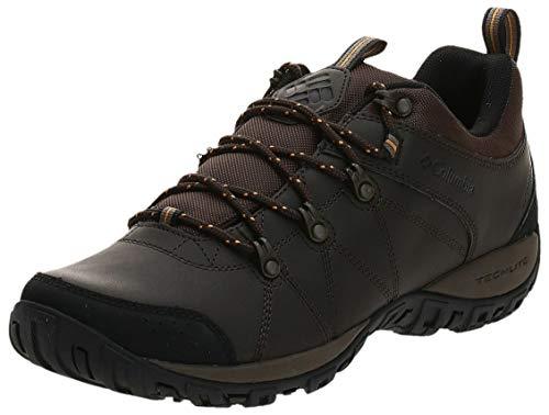 Columbia Peakfreak Venture Waterproof, Zapatos Impermeables Hombre, Marrón Cordovan Squash 231, 42.5 EU