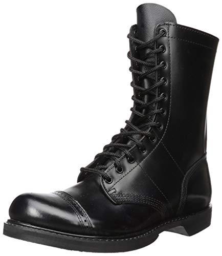 Corcoran Men's 10 Inch Side Zipper Jump Boot-M, Black, 11 M US