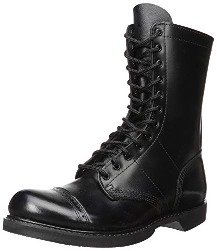 Corcoran Men's 10 Inch Side Zipper Jump Boot-M, Black, 10 M US