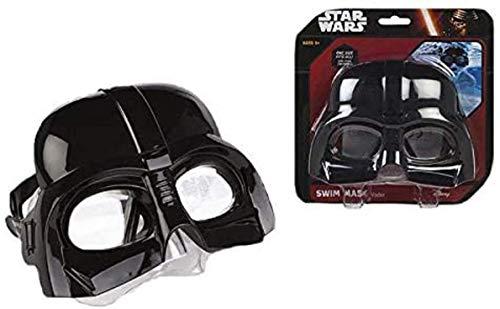 ALMACENESADAN 2567; Schwimmmaske Star Wars, Darth Vader; Taucherbrille