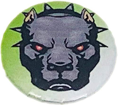 MALALPHA Alfileres y broches - Pit Bull - Bull Terrier - Perro