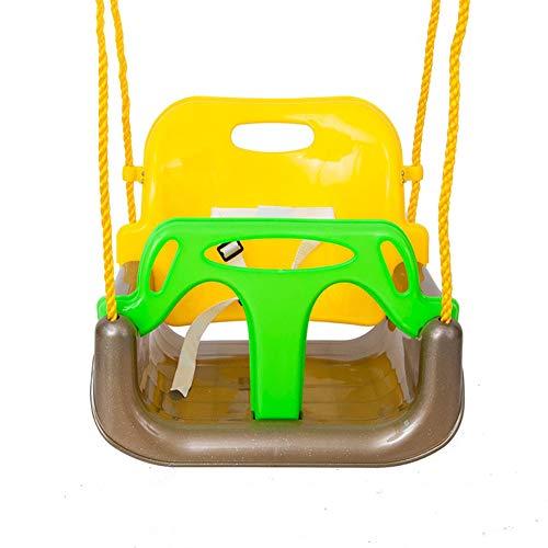 N / A Columpio Infantil Desmontable 3 En 1 para Niños, Asiento De Columpio De Bebé Multifuncional Portátil para El Hogar, Interior, Exterior, Interactivo Entre Padres E Hijos