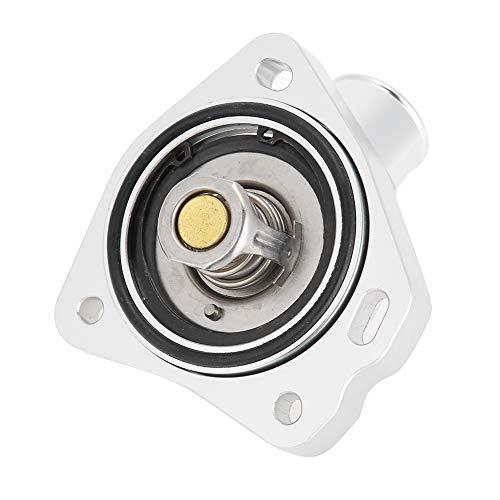 Carcasa de termostato superior, estilo de aluminio de cuello de agua estilo (plata)