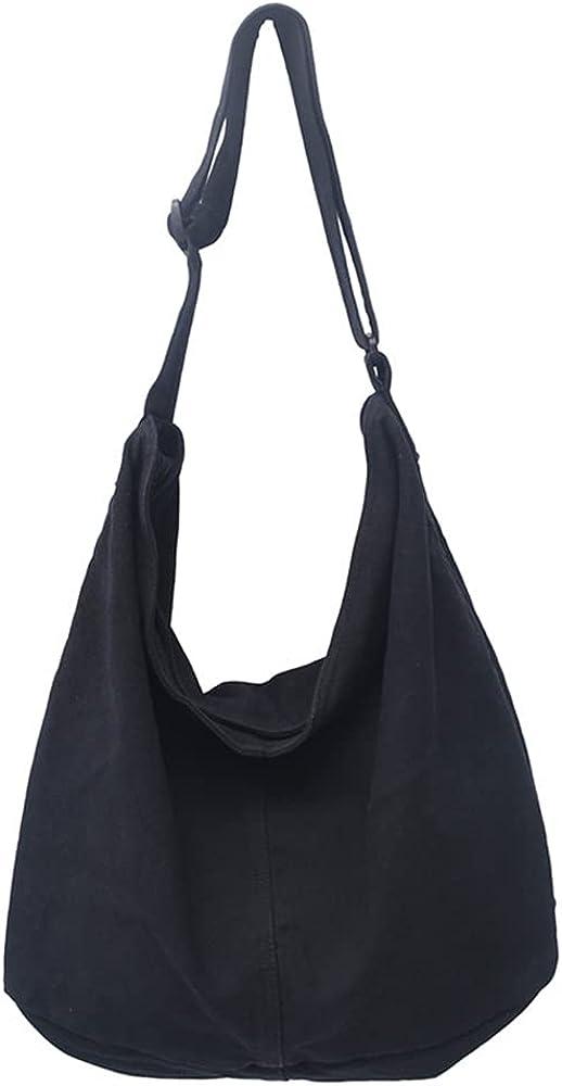 Casual Women's Shoulder Cross body Handbags Canvas Bags Large Size Hobo Bag Tote for Women