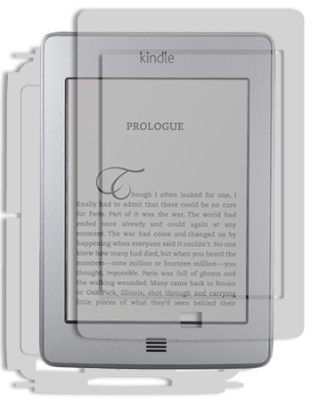 Skinomi Full Body Skin Protector Compatible with Amazon Kindle Touch...