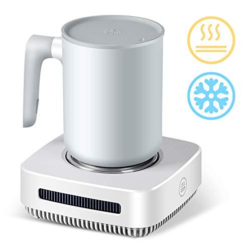 nicelucky Cup Cooler-Coffee Warmer Desktop 2IN1, 131℉ - 46℉ Coffee Tea Drinks Mug Warmer Cooler...