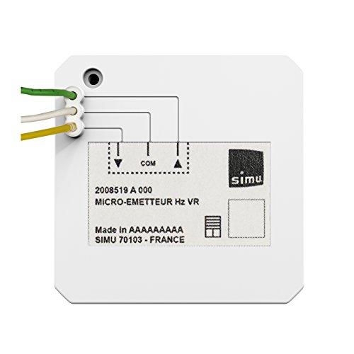 SIMU Funk Hz Mikro Sender Rollladen passend auch für Funk RTS Motoren