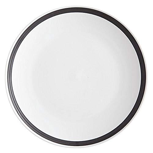 Maxwell & Williams Charlton Assiette à gâteau rond, Assiette, Assiette, Porcelaine, Blanc, Ø 22 cm, dv0106