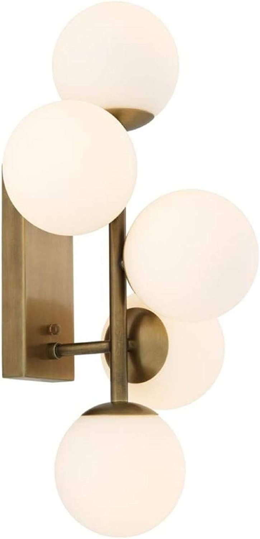 Casa Padrino Luxus Wandleuchte Antik Messingfarben Weiß 27 x 24 x H. 50 cm - Wohnzimmer Wandlampe B07KRZLYPW | Outlet Store