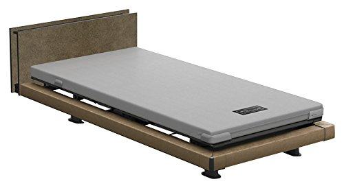 パラマウントベッド 電動ベッド インタイム1000 マットレス付 3モーター ハリウッド フットボード無し (ブラウン) RQ-1332MF+RM-E531 【4梱包】