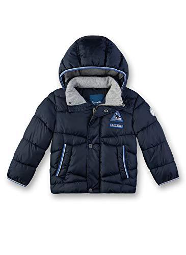 Sanetta Jungen Outdoorjacket Fake Down Jacke, Blau (Nordic Blue 5962), 92 (Herstellergröße: 092)