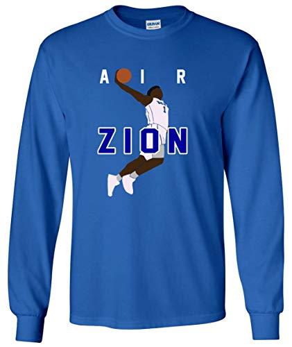 Long Sleeve Blue Zion Duke Blue Devils Air Pic T-Shirt Youth