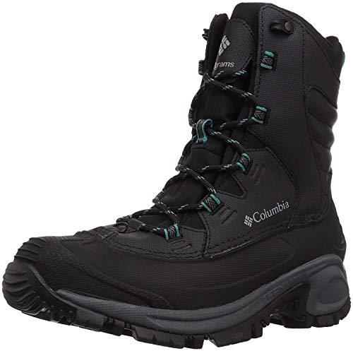 Columbia Women's Bugaboot III Snow Boot, Black, Pacific Rim, 5