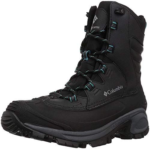 Columbia Women's Bugaboot III Snow Boot, Black, Pacific Rim, 8 Regular US