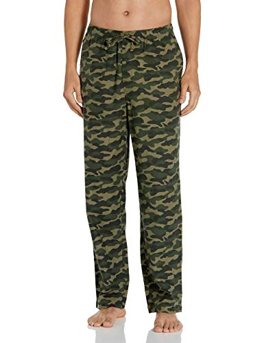 Amazon Essentials Flanell-pyjamahose pajama-bottoms, grün camo, M