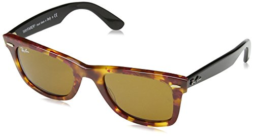 Ray-Ban MOD. 2140 occhiali da sole, SPOTTED RED HAVANA, 50-22-150 Unisex-Adulto