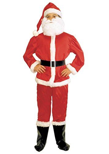 Stamco Disfraz Papa Noel Nio (10 - De 8 a 10 aos)