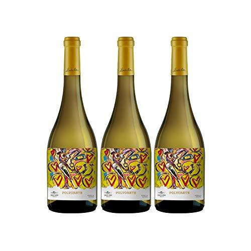 Emilio Moro - Polvorete, Vino Blanco, Godello, El Bierzo, 750 ml, 3x 750 ml