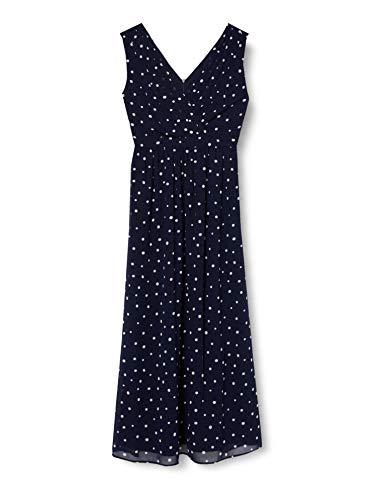 ESPRIT Collection Damen 040EO1E330 Kleid, 403/NAVY 4, 42