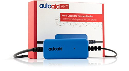 autoaid® Pro Kfz Diagnosegerät für alle Volvo - herstellerspezifische Tiefendiagnose für alle Modelle mit OBDII