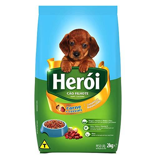 HERÓI Cão Filhote Sabor Carne e Cereais 2KG