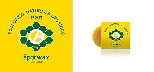 Eco Spotwax, Cera ecológica para bodyboard, surf (Aroma Plátano)
