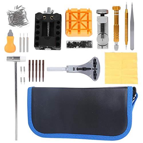 Herramientas de reparación de relojes, abridor de relojes de alto rendimiento ABS de acero inoxidable funcional, peso ligero para relojeros de reparación de relojes