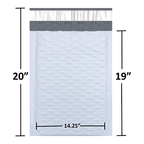 Sales4Less #7 Poly Bubble Mailers 14.25X20 Inches Shipping Padded Envelopes Self Seal Waterproof Cushioned Mailer 25 Pack Photo #3