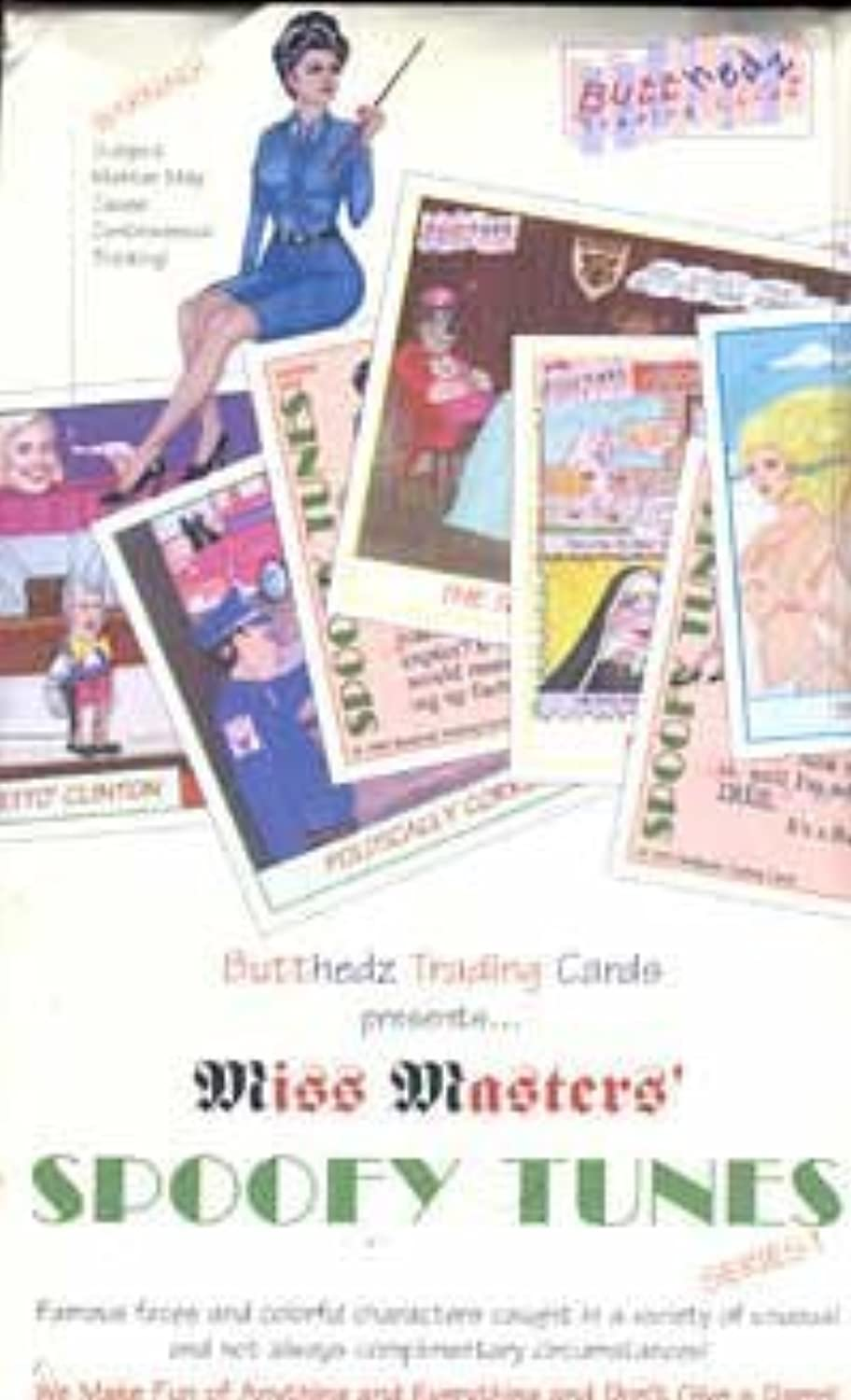 Miss Masters' Spoofy Tunes Trading Cards Series 1 Box 36 Count by  Pamema Marketing, Ltd.