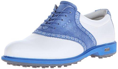 ECCO Womens CLAS. Golf Hybrid, Chaussures Femme, Multicolore White Cobalt 59580, 42/42.5 EU