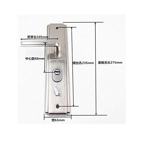 Antidiefstal deurkrukken, deursloten, krukken, krukken, accessoires, stevige dikke krukken, toegangsdeuren, krukken> 55mm,-Stijl 1