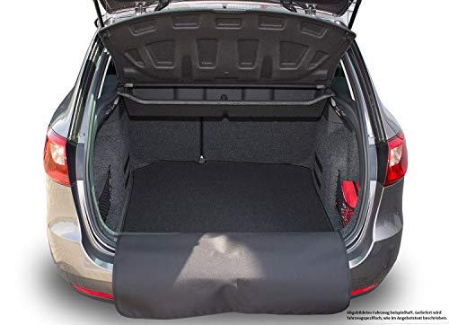 Kofferraummatte Kofferraumteppich mit Stoßstangenschutz für Golf 7 Variant ab 06/2013