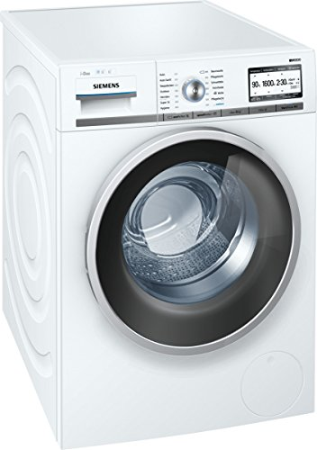 Siemens iQ800 WM16Y843 iSensoric Premium-Waschmaschine / A+++ / 1600 UpM / 8 kg / Selbstreinigungsschublade / i-Dos / Automatikprogramme