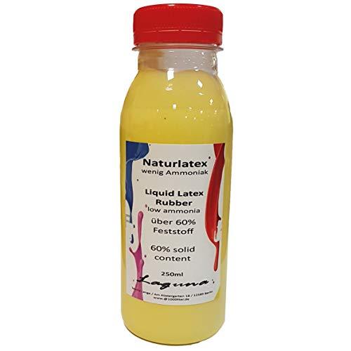 Flüssiglatex 250ml vorgefärbt gelb Givul, vorvulkanisiert Maskenbildner Basteln Latexmilch Latex