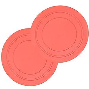fineinno chien frisbee Frisbee Durable TPR Soucoupe Volante 18cm BOL antidérapant Pad Animal jamais Verl etzt dents sûr pour dressage de chien