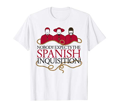 Monty Python Official The Spanish Inquisition T-Shirt