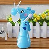 HLJ Mini-Ventilator Cartoon-Giraffen Tragbarer Schreibtisch Luftbefeuchtung Kind-Spielzeug...