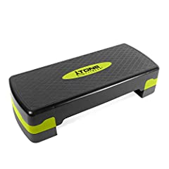 "DIMENSIONS – The dimensions are 26. 77"" long x 11. 02"" wide x 5. 91"" tall; This aerobic stepper is light-weight and easy to carry, weighing in at 5. 5 pounds FEATURES – Offers a secure, non-slip surface for your workout routine and is adjustable for ..."