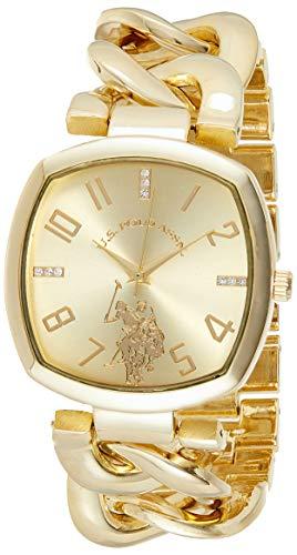 Women's Analog-Quartz Watch with Alloy Strap, Gold, 11 (Model: USC40250AZ)