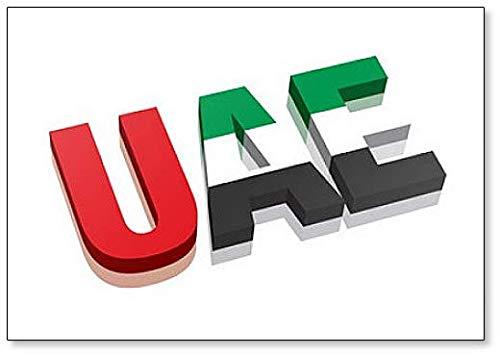 Kühlschrankmagnet, 3D-Flagge der Vereinigten Arabischen Arabischen Arabischen Arabischen Arabischen & Arabischen Republik